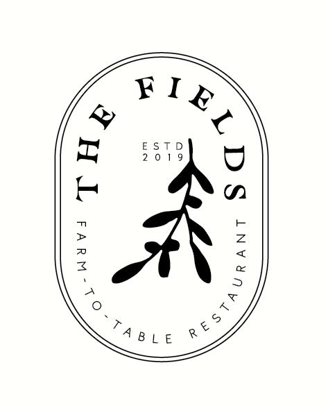 Restaurant logo design with hand-lettered serif font
