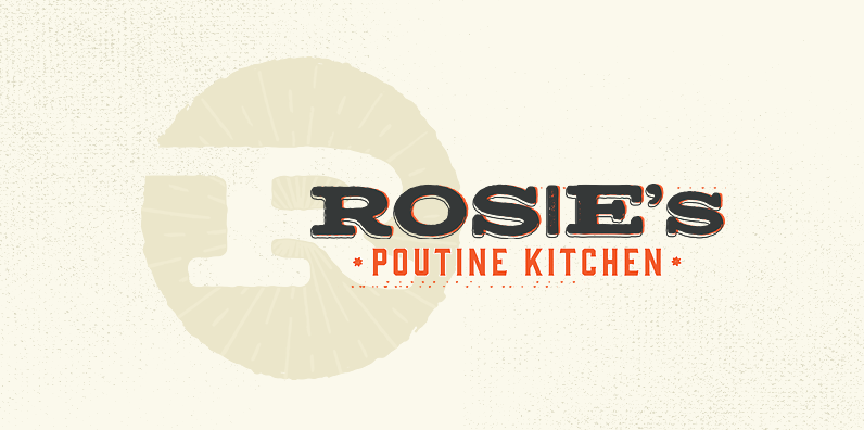 Hand-lettered logo design for a food truck