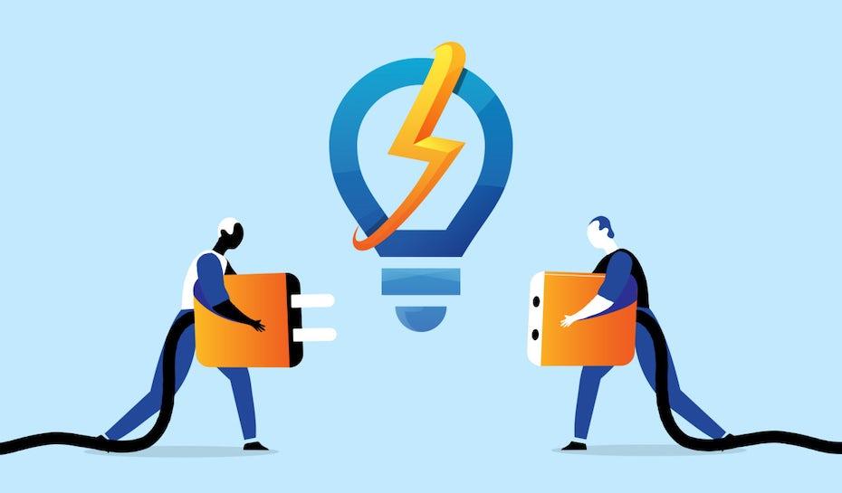 Electrician logos