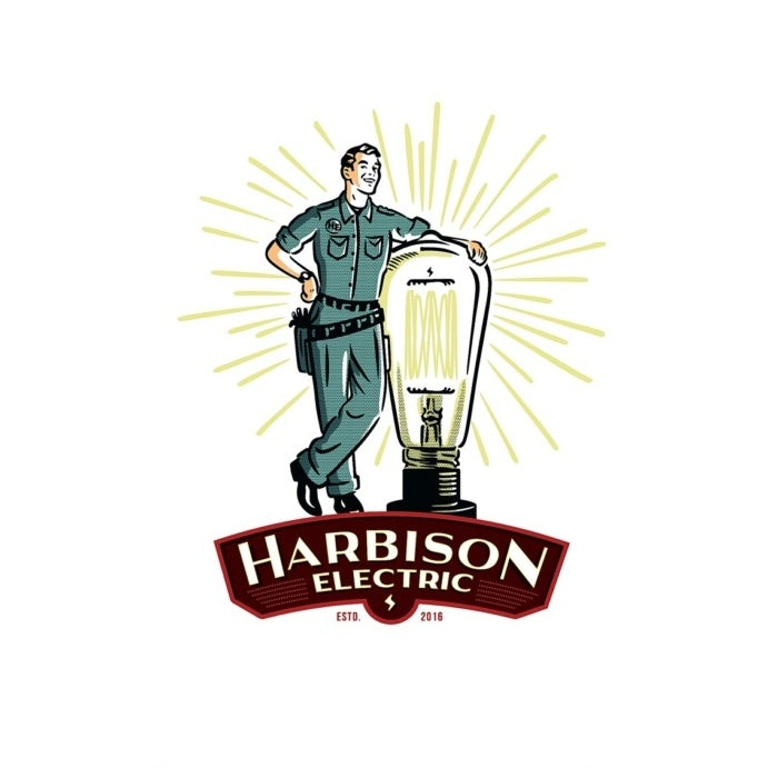Harbison Electric logo