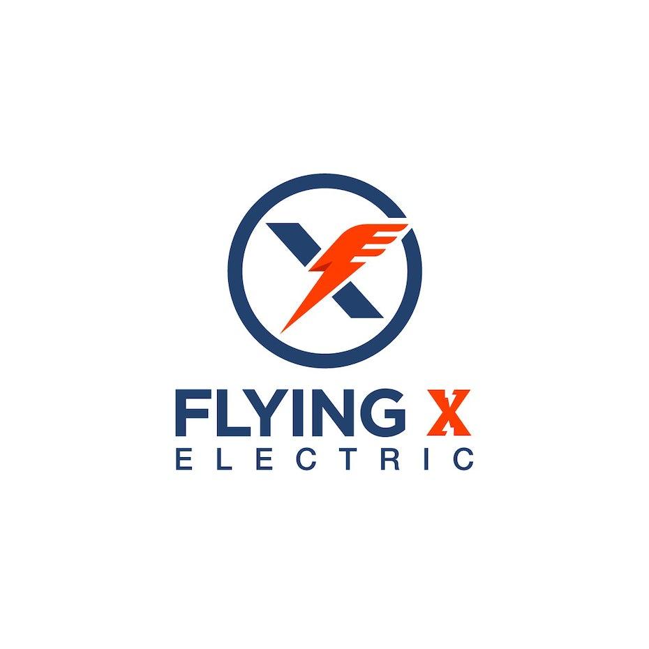 Flying X Electric logo