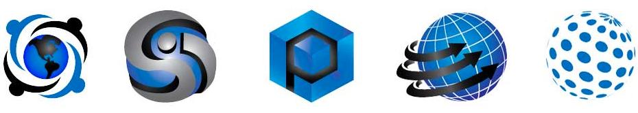generic globe logos
