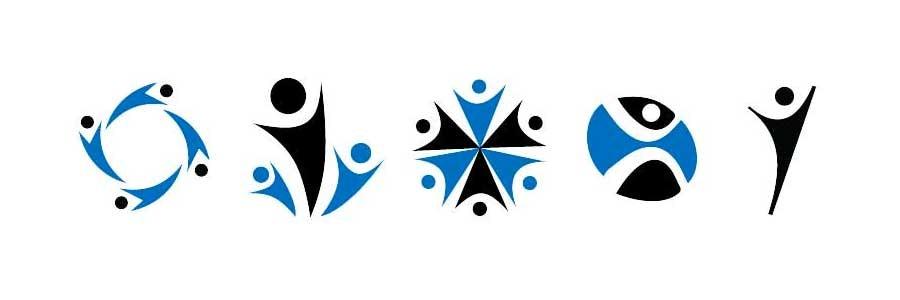 V-man generic logo design