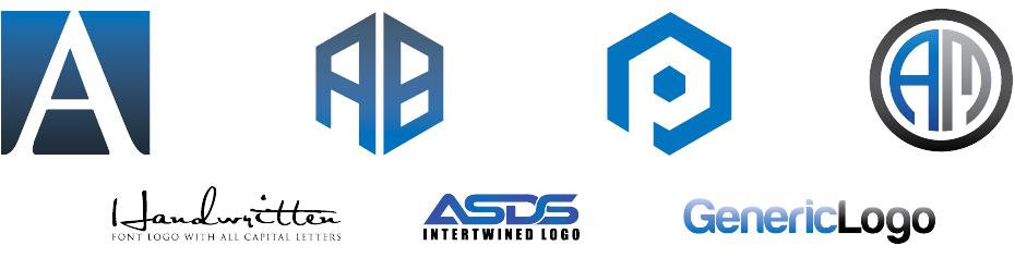 wordmark lettermark generic logos