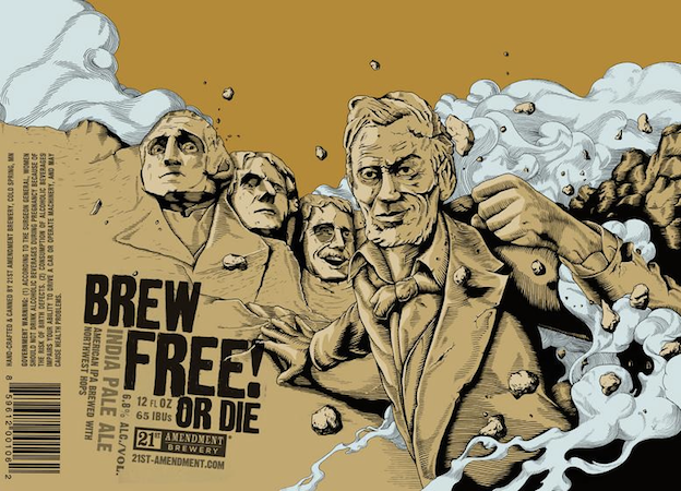Craft beer design: 21st Amendment