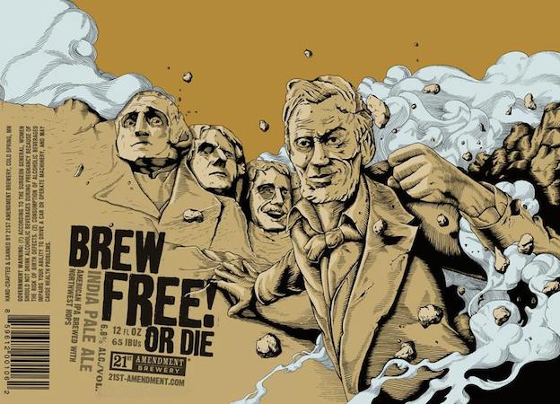 Craft beer design: 21st Amendment