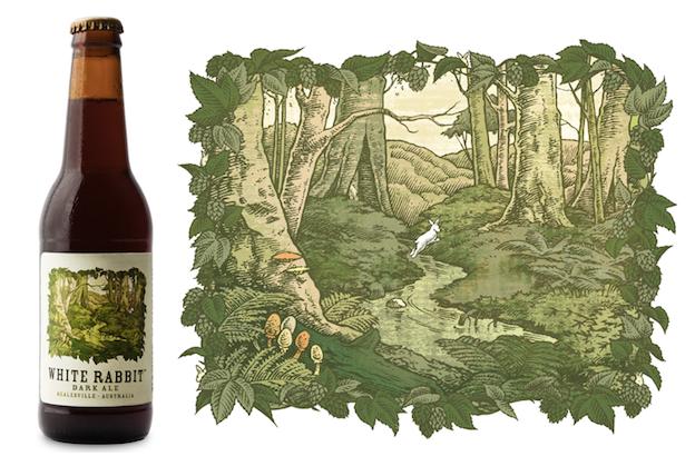 Craft beer design: White Rabbit Brewery
