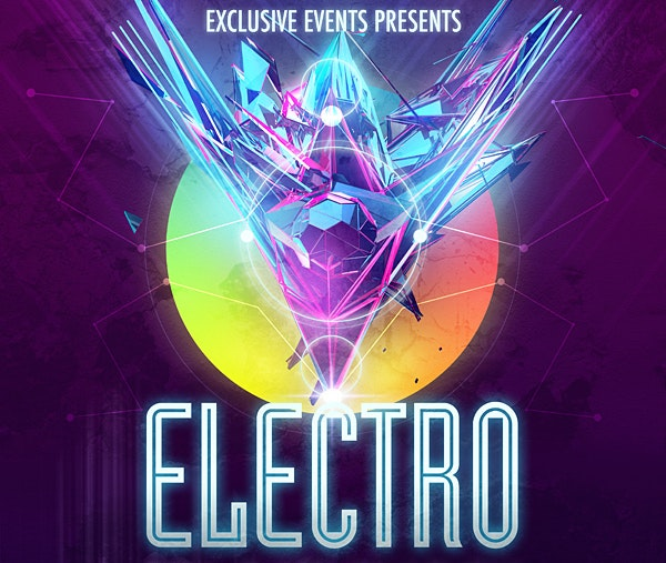 A3-Electro-Event-Poster