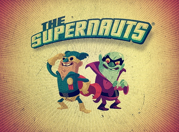 the supernauts logo