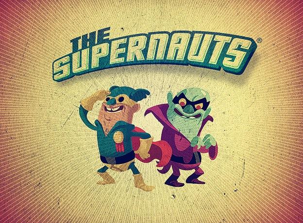 the supernauts logo