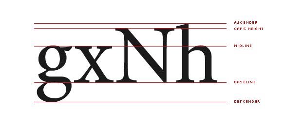 typography metrics