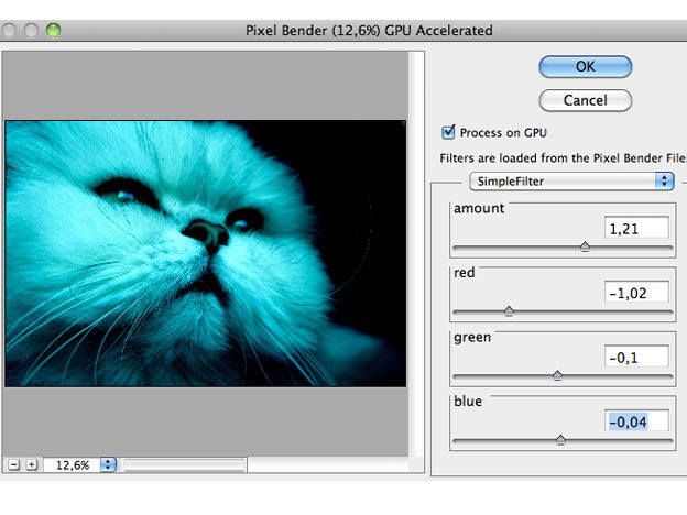 Create your own filters in Photoshop using Pixel Bender