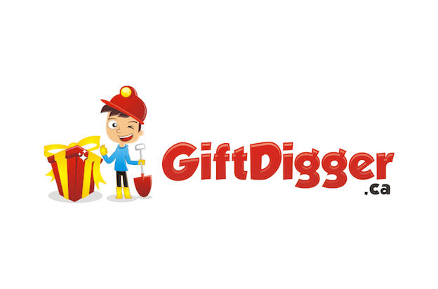 Logo for Gift Digger .ca.