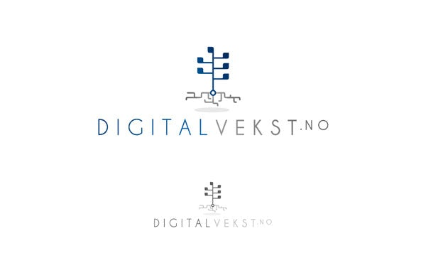 Logo for Digital Vekst.