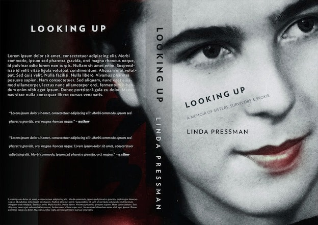 Looking Up Book Cover Design