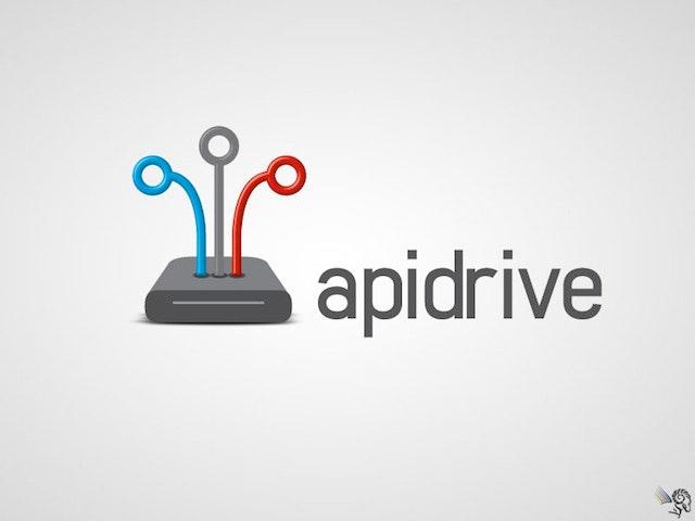 Apidrive Logo Design
