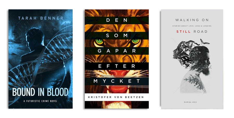 Book cover designs by vanessanoheart