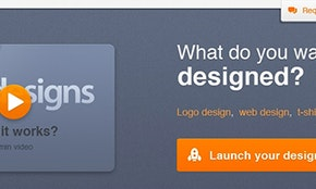 99designs homepage redesign contest winners