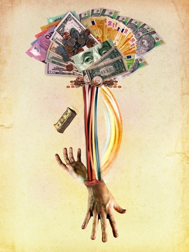 Money Powers Man Poster