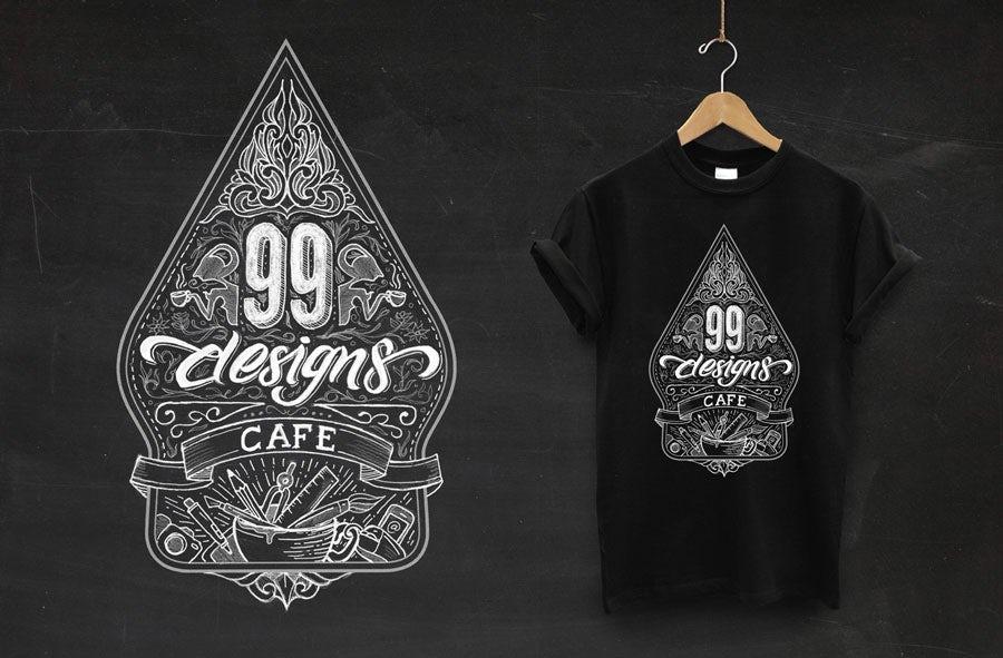 99designs cafe design