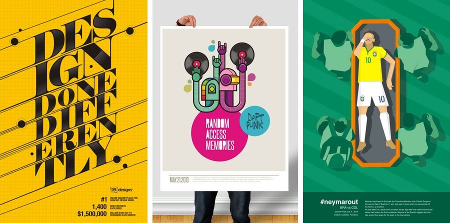 poster designs by fattah setiawan