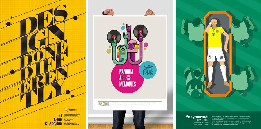 poster designs by fattah setiawan
