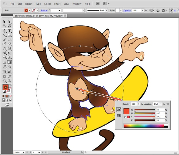 Adobe Illustrator Essentials For Character Design : Create a cartoon character using adobe illustrator