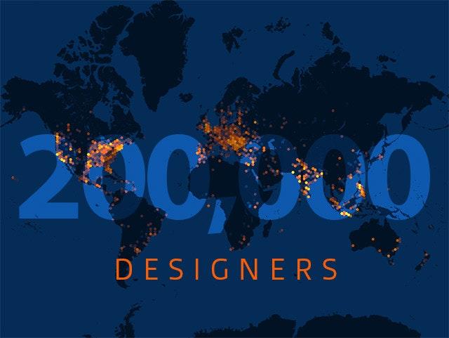 200,000 99designers
