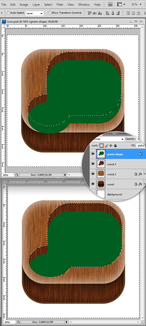 how to make an app icon in photoshop