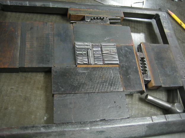 Letter, press, and print! A step-by-step on letterpress printing