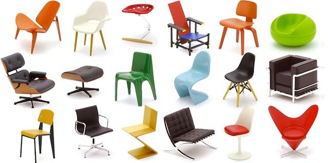Mini designer chairs. gift  sc 1 st  99Designs & Holiday gift guide 2012: give a designer a gift - Designer Blog