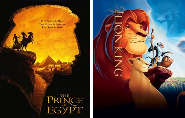 Source: Dreamworks Animation, and Walt Disney Pictures