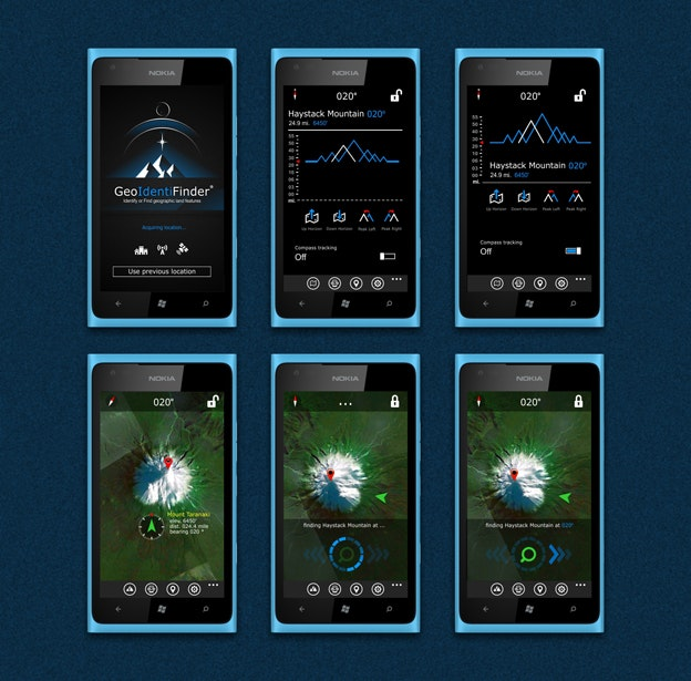 Geoidentifier app design