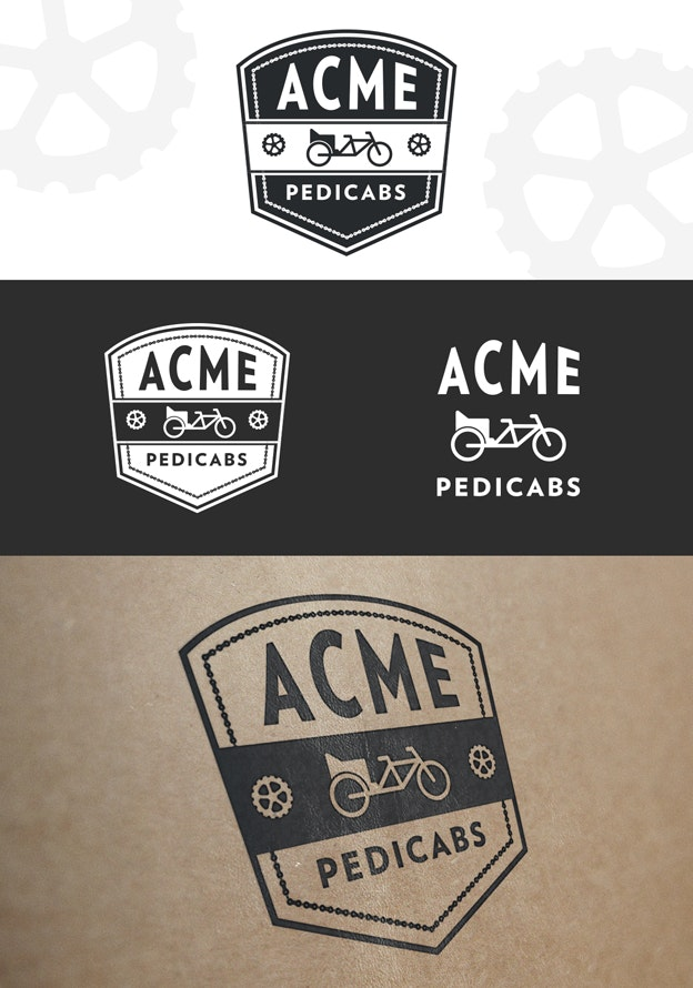 Acme pedicabs logo