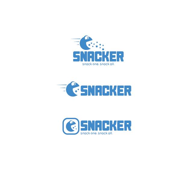 Snacker logo design