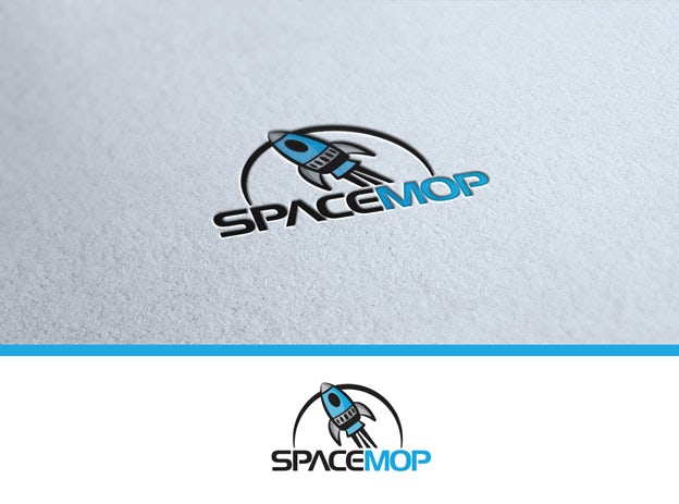 Spacemop logo design