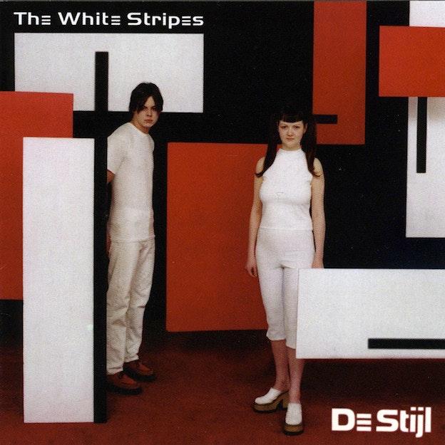 『ザ・ホワイト・ストライプス』のアルバムジャケット