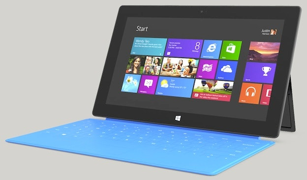 Microsoft Surface タブレット