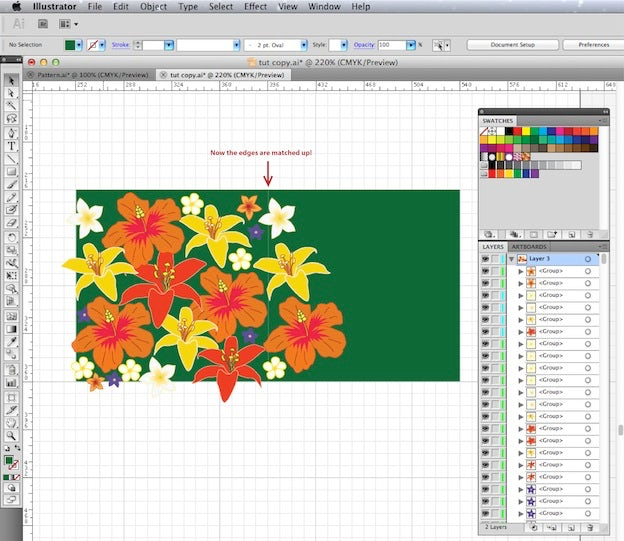 Create your own pattern swatch: An easy 5-step Illustrator
