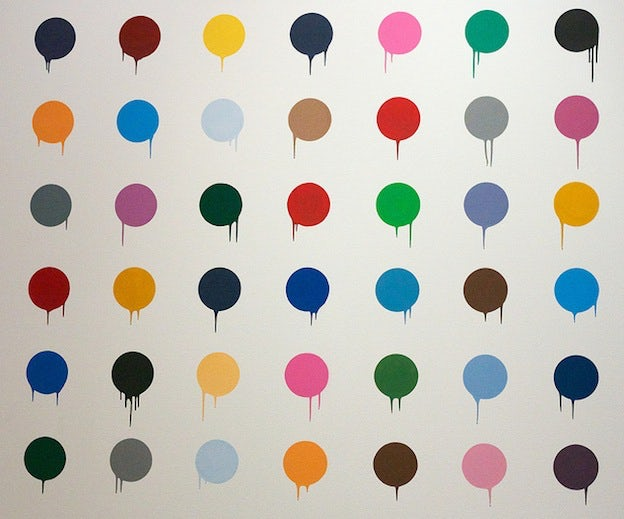the polka dot art cosmos and graphic design