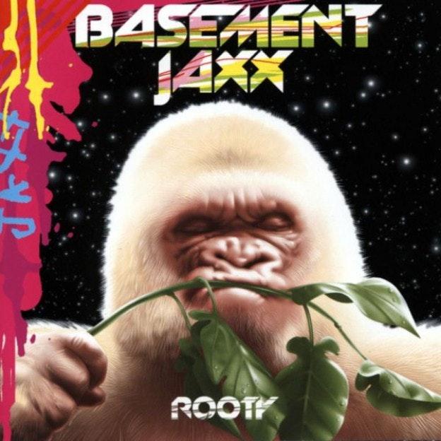 electronic music album art: basement jaxx