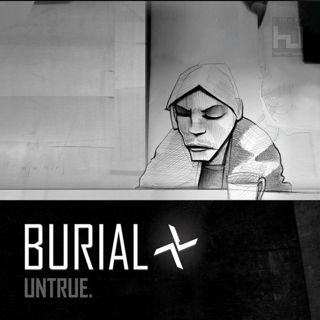 electronic music album art: burial