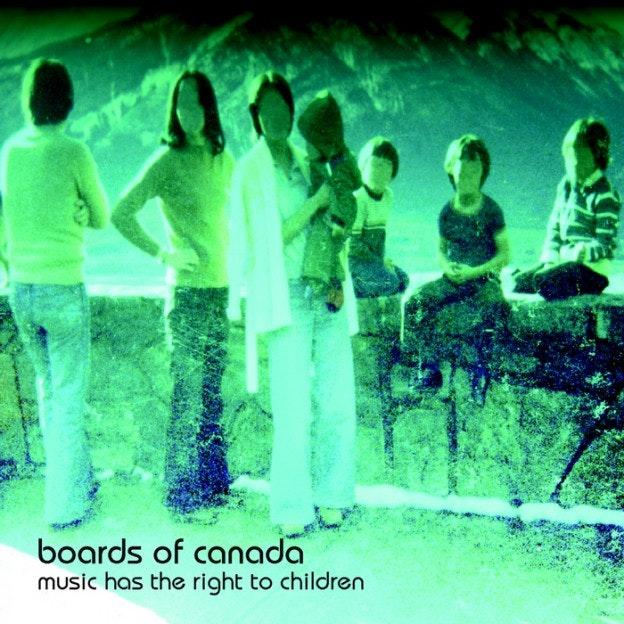 electronic music album art: board of canada