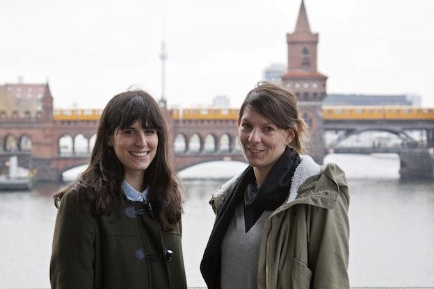 Giulia and Eva Photo - January 2013