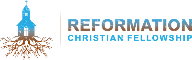 Reformation Christian Fellowship ( top down gradient transparent background )