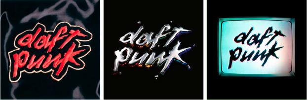 electronic music album art: daft punk