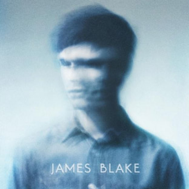 electronic music album art: james blake