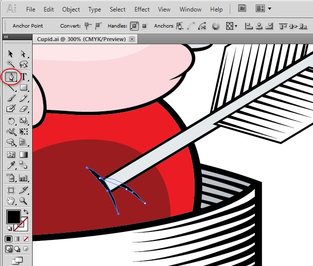 how to use pen tool to make a selection