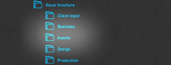 File Art 4 Design Ordner-Etiketten Beautiful Boss............................080