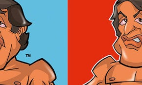 Guess the famous faces in these caricature designs